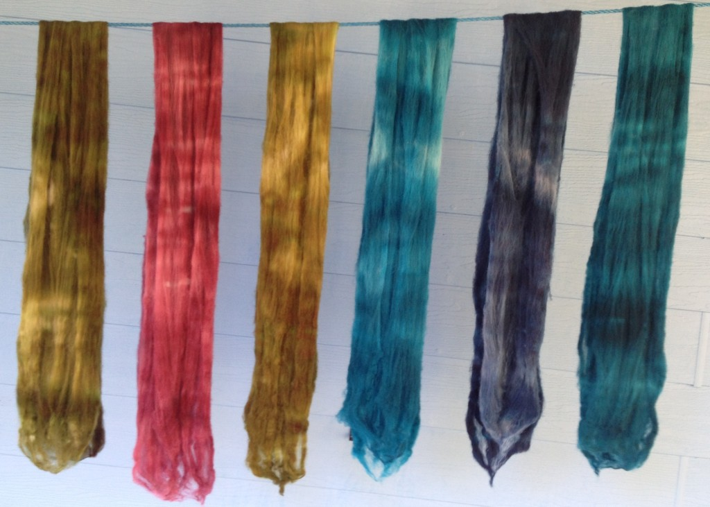 Naomi's hand-dyed wool