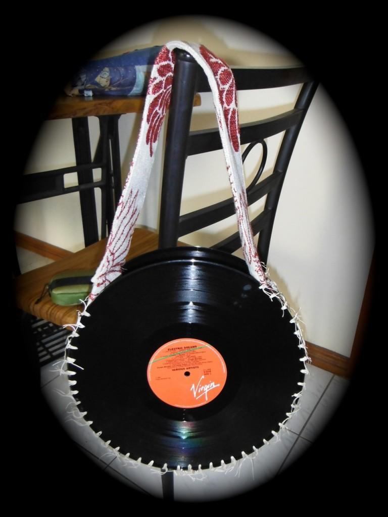 Vinyl album bag