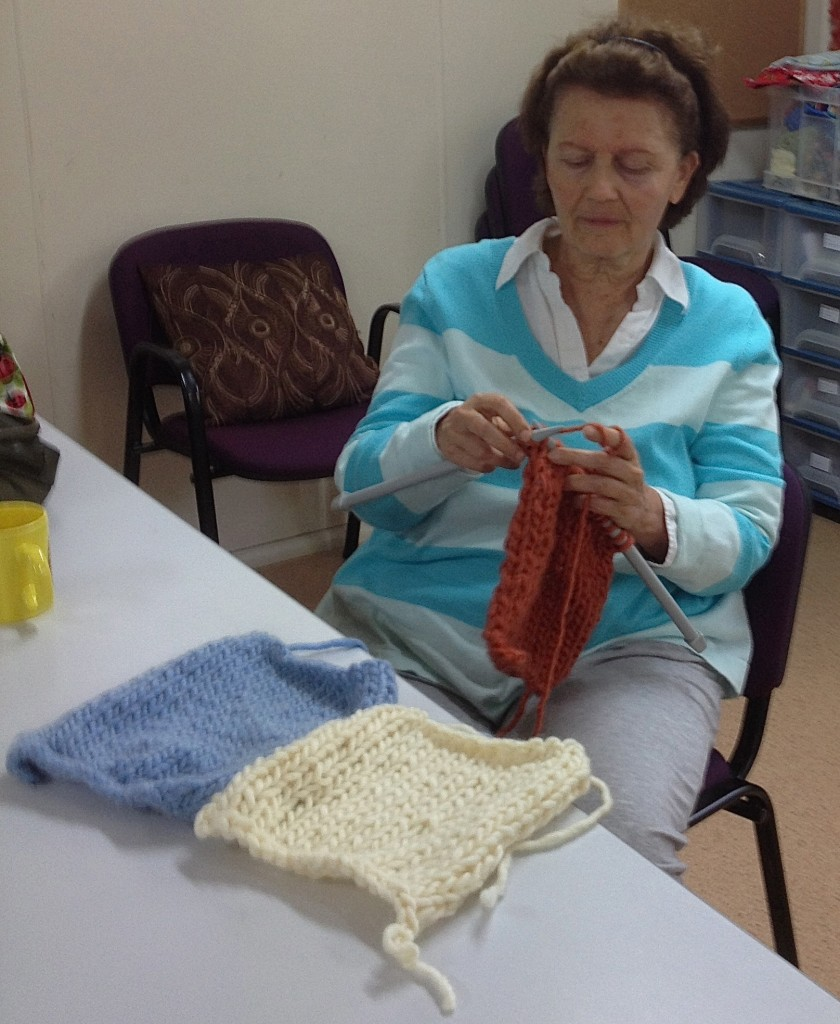 Marianne Knitting