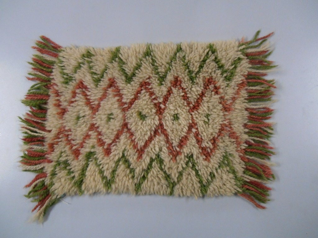 Vicki's Knitted Rug