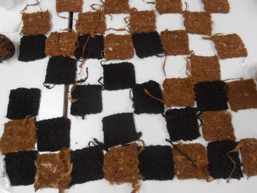 Chess board squares