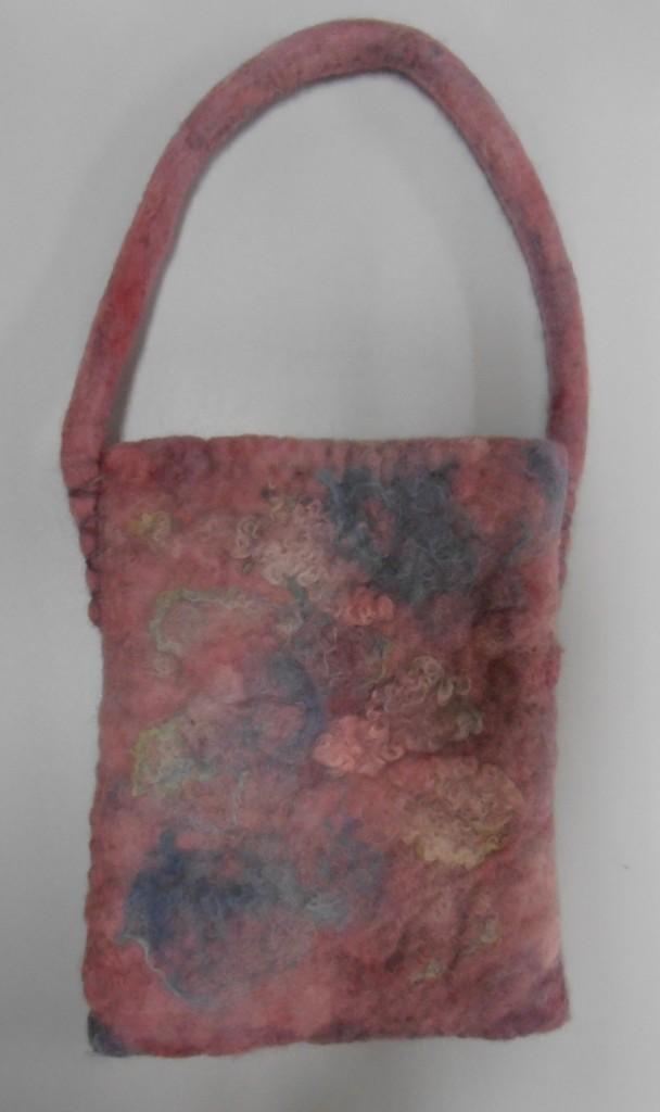 Bev's felted bag