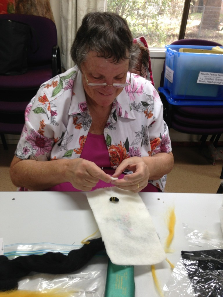 Diane needle felting