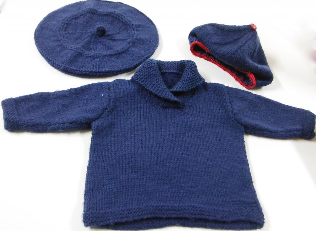 Jenny's Knitted Set