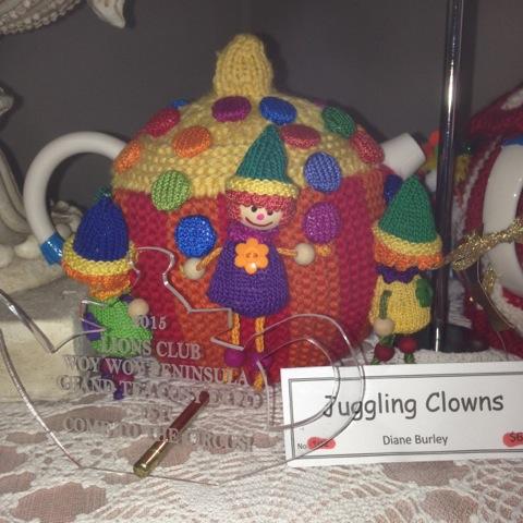 Diane's winning tea cosy