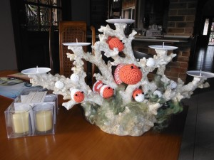 Coral and Fish Table Decoration