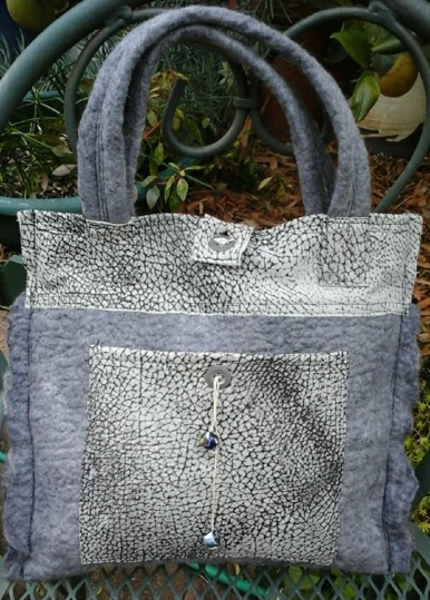Jacque's felted bag