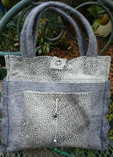 Jacque's felted bag