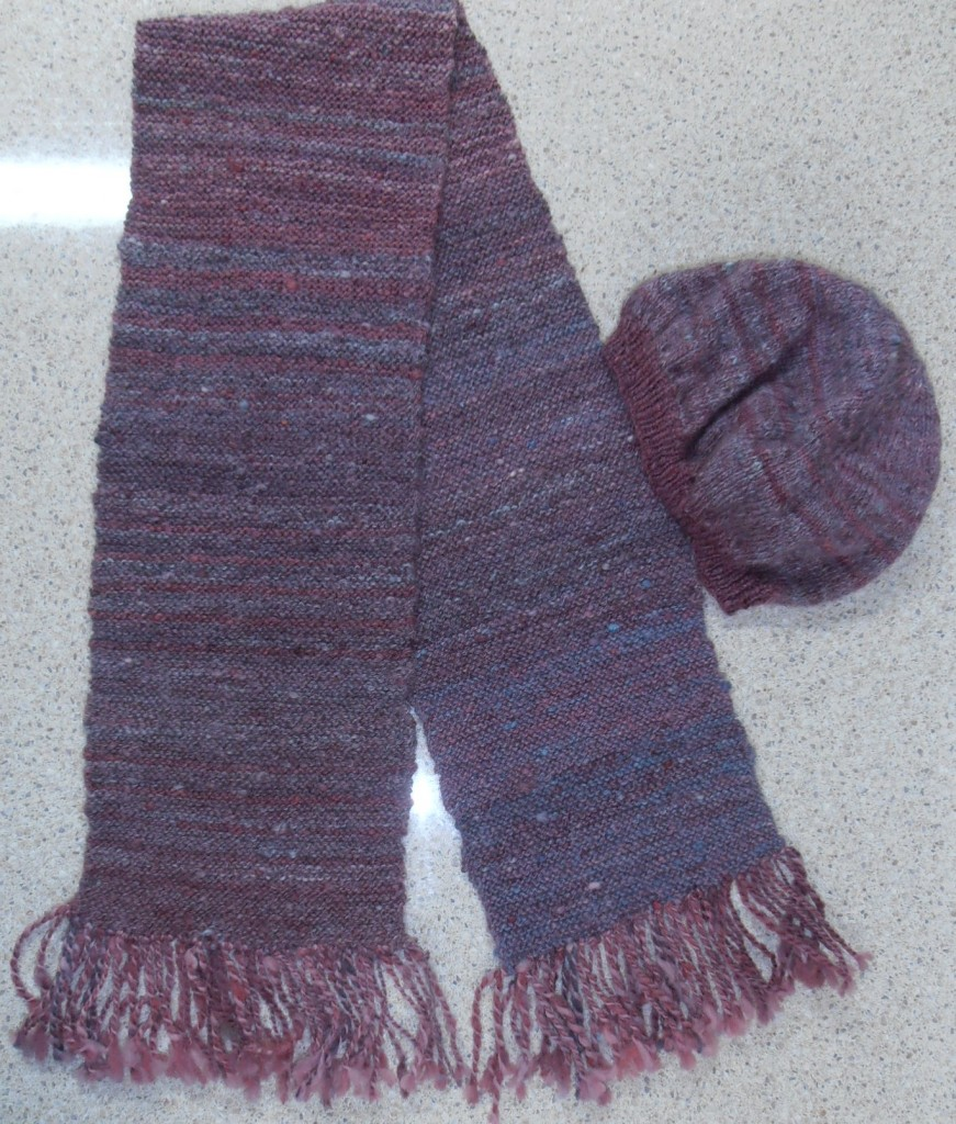 Bev's Hat and Scarf