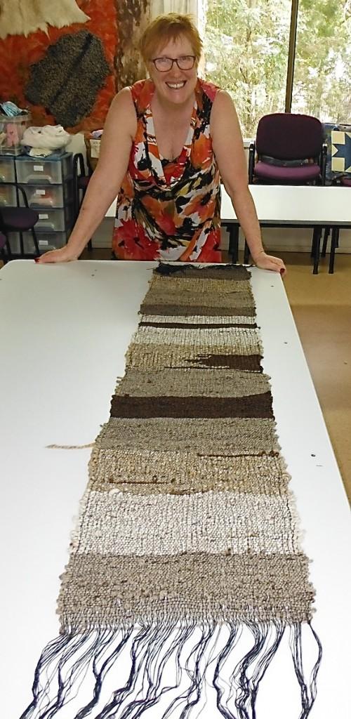 Louise's Saori Weaving
