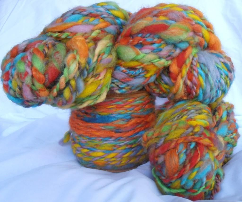 Steiner Rainbow Wool