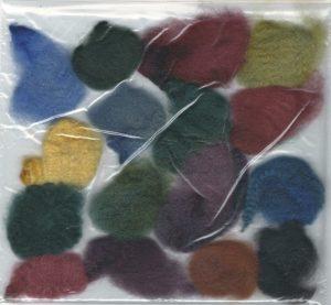 Dye sample