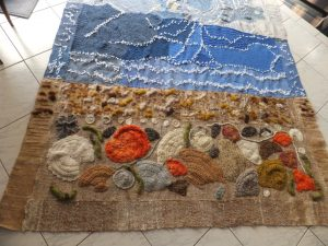 Lyn's seaside rug