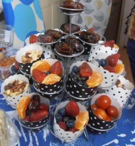 Fruit and Nut Cupcakes