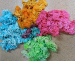 Bev's dyed wool