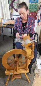 Charlotte Spinning