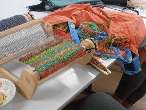 Louise's weaving