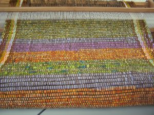 Eileen's weaving