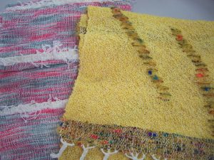 Lyn's Saori Weaving