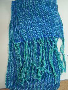 Sandra's Sampleit Loom Weaving